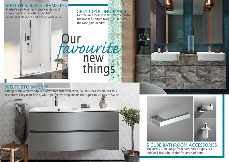 What 39 s new in bathrooms autumn 2017 kitchen and for What s new in bathrooms